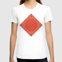 tupac T-shirts featuring red bandana by Marta Olga Klara