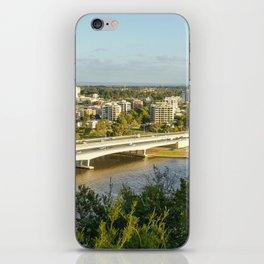 Narrows Bridge & Mill Point, Swan River, Perth iPhone Skin