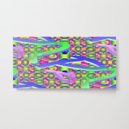 P - pattern a Metal Print