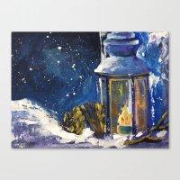 lantern Canvas Prints featuring Lantern by TamTamArt