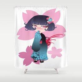Hina Fleur Shower Curtain