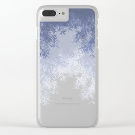 Willow (Blue) Clear iPhone Case