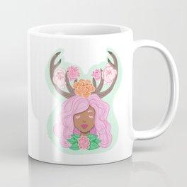 Deer Girl Coffee Mug