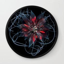 Night Bloom Wall Clock
