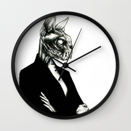 The wait Wall Clock
