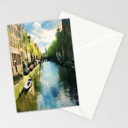 Amsterdam Waterways Stationery Cards