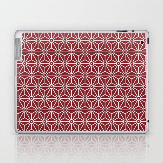 Japanese Yukata Jinbei Asanoha shinshu Laptop & iPad Skin