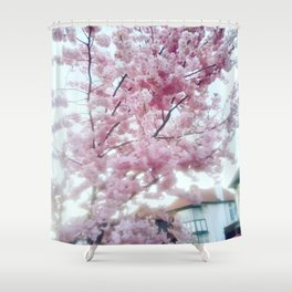 Spring on. Shower Curtain
