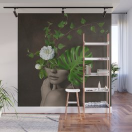 Tropical Girl 1 Wall Mural