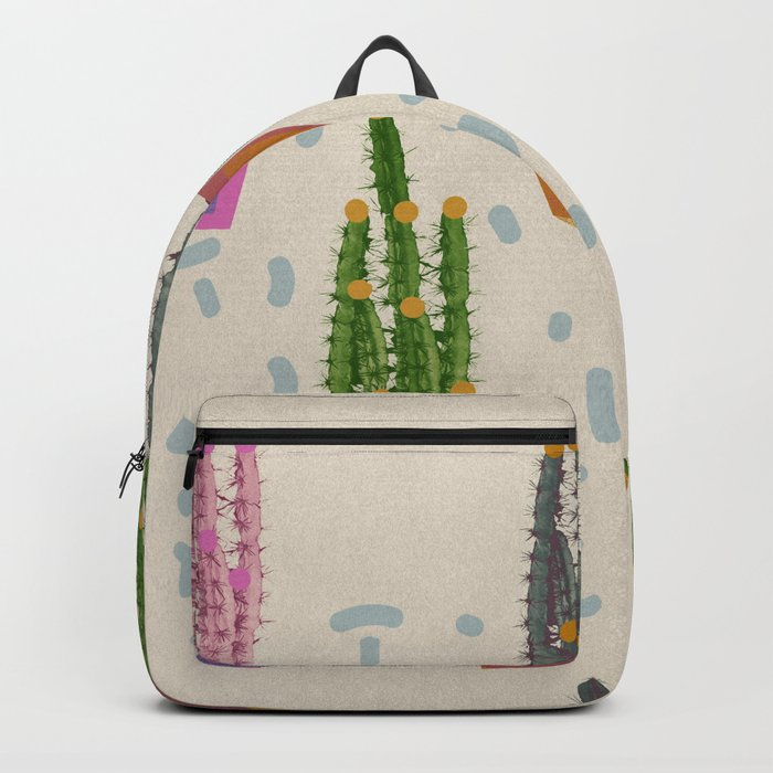 Cacti in the pot Backpack