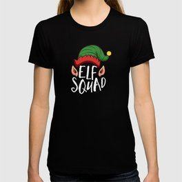 Elf Squad Funny Christmas Gift Holiday Season T-shirt