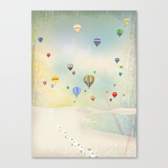 balloon day Canvas Print