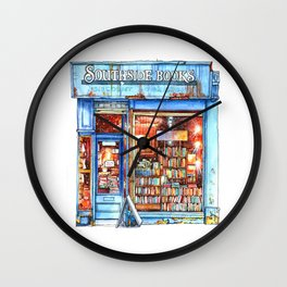 Edinburgh Bookstore Wall Clock