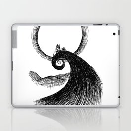 There's an Empty Place in my Bones Laptop & iPad Skin