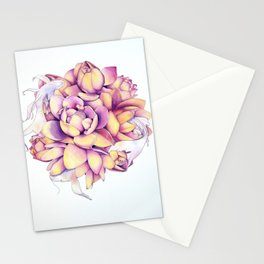 Dancing Harmony Stationery Cards