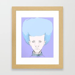 """""""Hair Ball"""" Framed Art Print"""