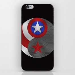 YING YANG SUPERHEROES  iPhone Skin