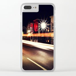 Illuminate the Streets Clear iPhone Case