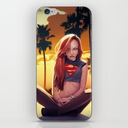 I'm a Supergirl! iPhone Skin