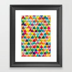 Tryangl Framed Art Print