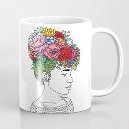 Flowered Hair Girl 2 Coffee Mug