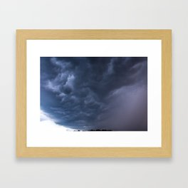 Rolling on By Framed Art Print