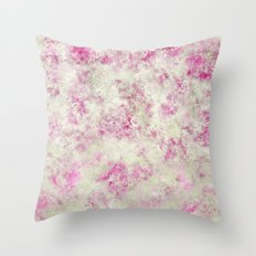 English Rose - Abstract Pattern Throw Pillow