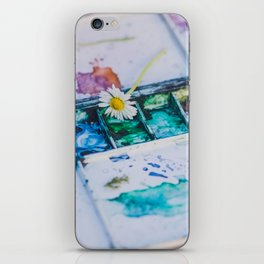 Watercolor iPhone Skin