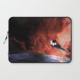 The Intrepid arrives at Carthage Laptop Sleeve