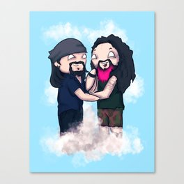 Vinnie and Darrell Canvas Print