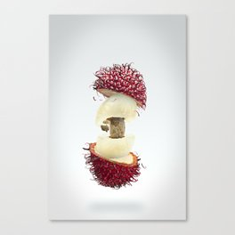 Flying Rambutan Canvas Print
