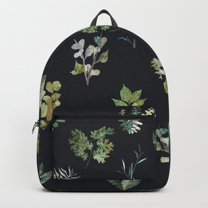 Green Nature at Night Backpack