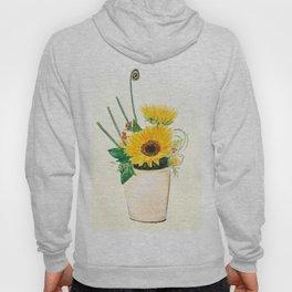 sunflower arrangement Hoody