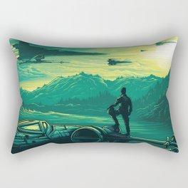 The Force Awakens Alternative Poster design Rectangular Pillow