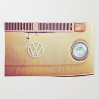 vw Area & Throw Rugs featuring vw by shannonblue