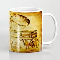 insects Mugs featuring The revenge of insects by Ganech joe