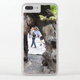 Tree in forbidden city | arbre dans la cité interdite Clear iPhone Case