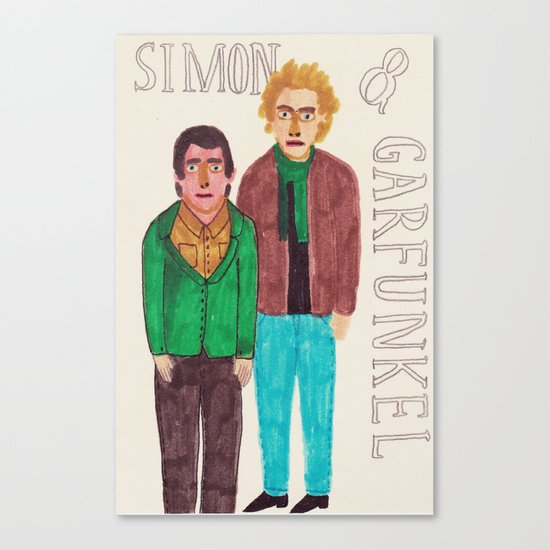 Simon & Garfunkel Canvas Print