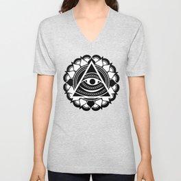 All Seeing Eye Unisex V-Neck