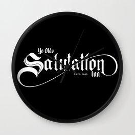 Ye Olde Salutation Inn Wall Clock