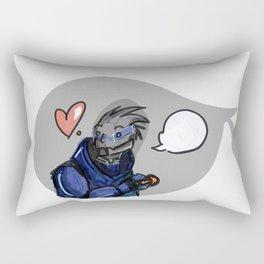 Garrus Vakarian Rectangular Pillow