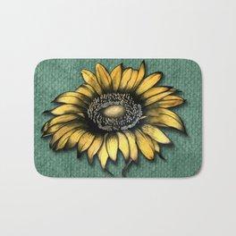 Sunflower Love Bath Mat