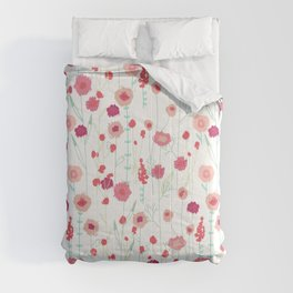 Plymouth Flowers Comforters