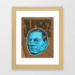 Benito Juarez  Framed Art Print