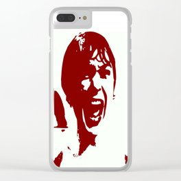 PSYCHO Clear iPhone Case