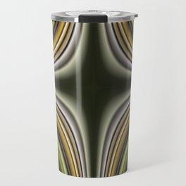 Fractal Cross in CMR 01 Travel Mug