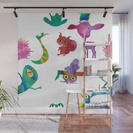 Animals Wall Mural