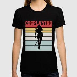 Hipster Cosplaying Team Tshirt T-shirt