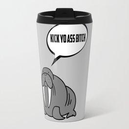 Angry Walrus Travel Mug