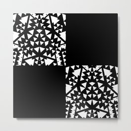 Geometric Unleashed Metal Print